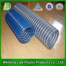 pvc water suction reinforced pipe/tube /hose