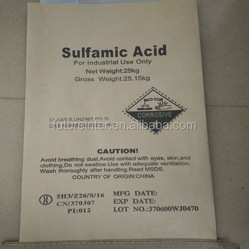 Professional producer of Sulfamic Acid
