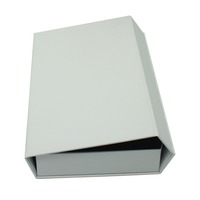 top sale high quality white magnetic gift boxes, promotional luxury clothing book box