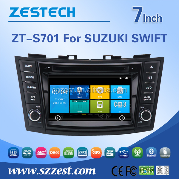 2 din car stereo for Suzuki Ertiga / Mazda VX-1 double din car stereo with GPS RDS BT 3G TV car dvd radio stereo system