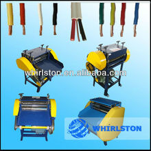 whirlston scrap copper cable stripping machine