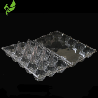 15 Units Clear Plastic Quail Egg Tray,Customized Egg Blister Clamshell