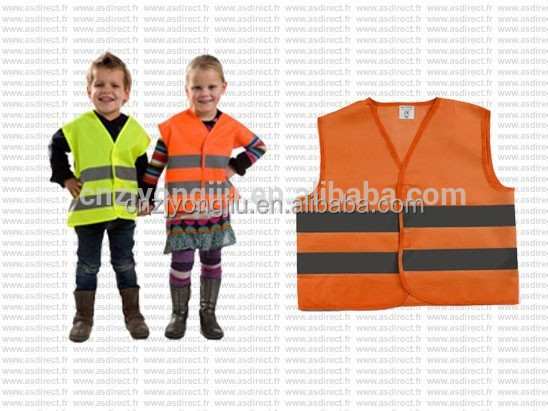 3M High visible safety reflective pretty vest for kids