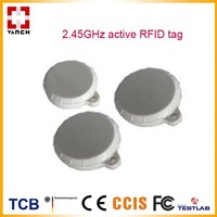 Button Shape 2 45GHz Active RFID