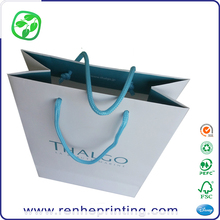 matte paper cloth shopping bag pearl paper, paper printing shopping bag