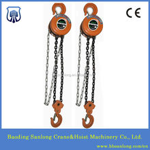 HS type manual hoist chain block 5 ton