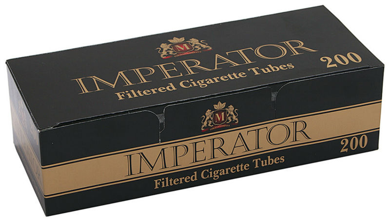 Cigarette filtered tubes Imperator Black
