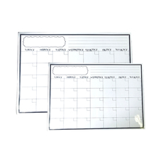 Magnetic Dry Erase Whiteboard Sheet Refrigerator White Board Calendar and Planner