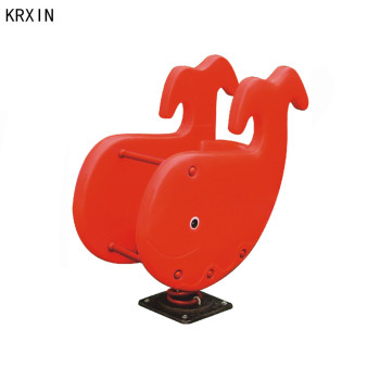 whale animal outdoor spring rocking horse for kids