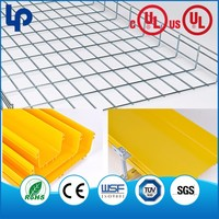 welding cable welded wire mesh cable tray , wire mesh cable tray made in shanghai