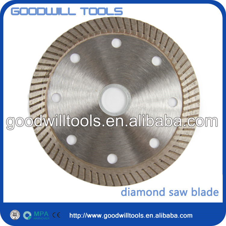 factory directly laser welded turbo wet tile saw blade from direct