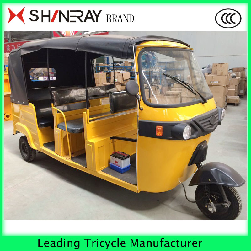 hot sale tricycle in Africa cargo tricycle with cabin for passenger