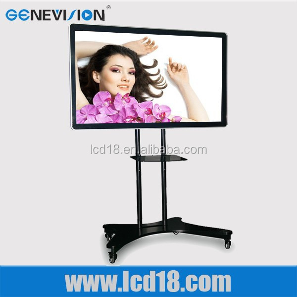 "19"" smart tv, indoor media advertising monitor, interactive pen displays"