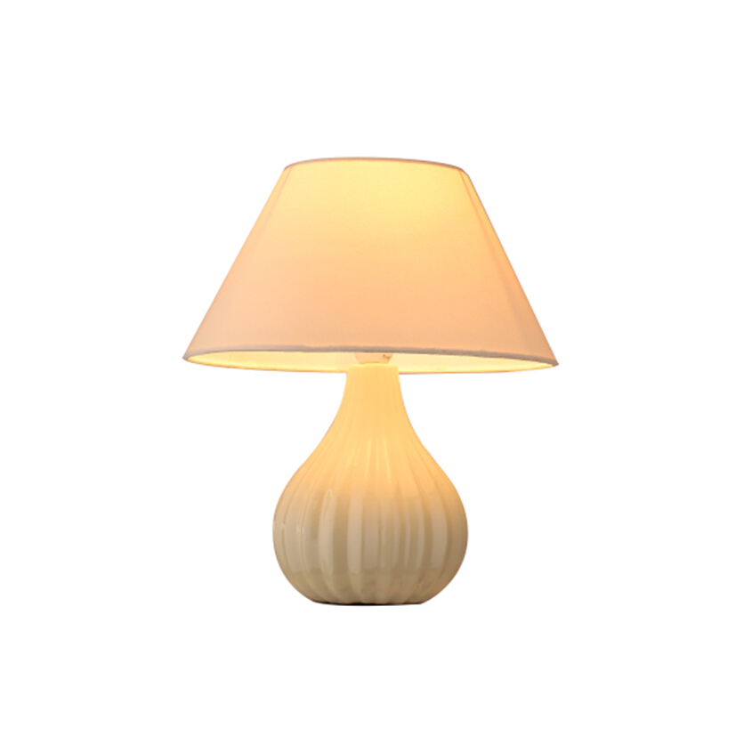 wave ceramic base table lamp BT0152