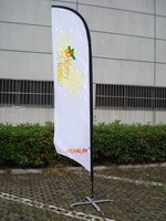 Promotional Outdoors Customized Hottest Beach Flag