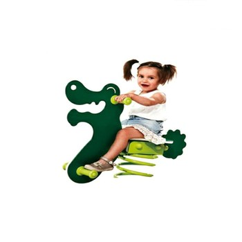 the most popular rocking horse plastic ride toys for kids park rides bumper car kids playground HF-G211J