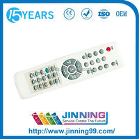 RoHS CE Manufacturer OEM Durable Korean UNIVERSAL Satellite Remote Control stb Remote TV Controllo Remoto