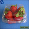 Strawberry plastic container customized fruit plastic container iso9001 certified
