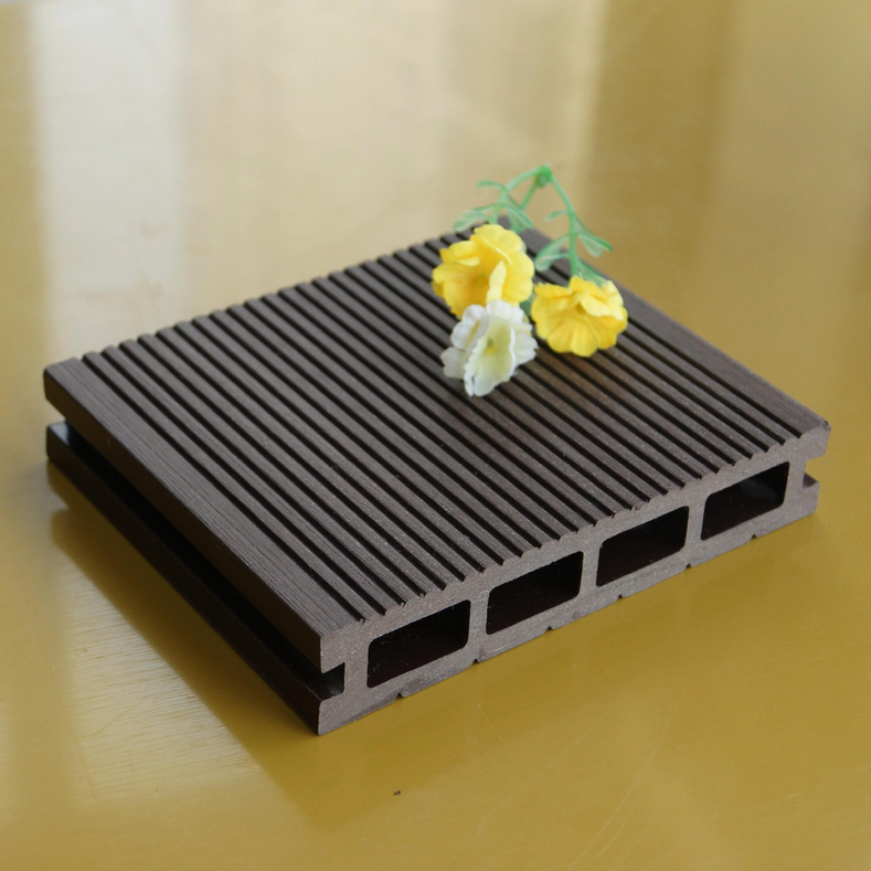 Hot sale recyclable wood plastic composite board for for Wood decking boards for sale