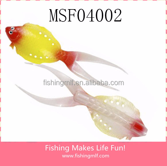 MSF04001 13mm/8g Soft Flounder Flatfish Fly Fish Japanese Soft Plastic Fishing Lures