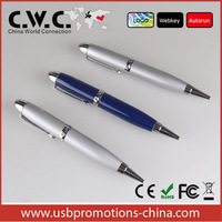 Promotion laser pointer USB pen drive pen shape customized USB flash drive 1GB/2GB/4GB/8GB/16GB32/GB china supply