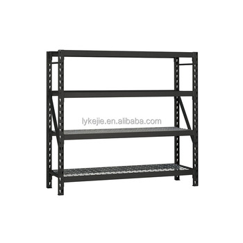 Household Garage Used Steel Roll Goods Storage Industrial Rack Iron Medium Duty Steel Shelf Rack