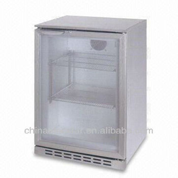 Back-bar Freezer with 99L Capacity, Compressor Cooling and CE-approved