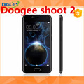 2017 shenzhen and hongkong warehouse doogee shoot 2 original phone black/gold/silver smartphone