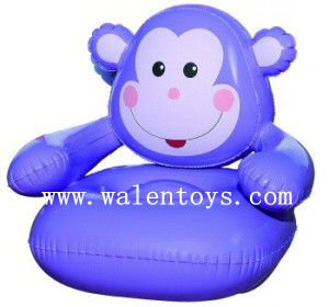 Cartoon inflatable chair for kids