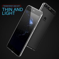 New products ! Baseus Soft Transparent TPU Mobile Phone Case For Huawei P10 Plus