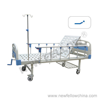 NF-M101 Manual Single-Crank Massage Mattress Hospital Bed