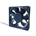 12cm silent waterproof dc fan 120*120*25mm pc case fan with PWM