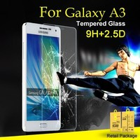 Screen Protector for Samsung Galaxy A3 Tempered Glass for Galaxy A3 Explosion-Proof Film for SM-A3000G Protective