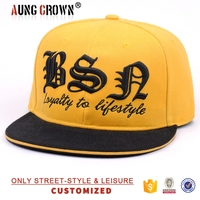 3d embroidery custom made snapback hat