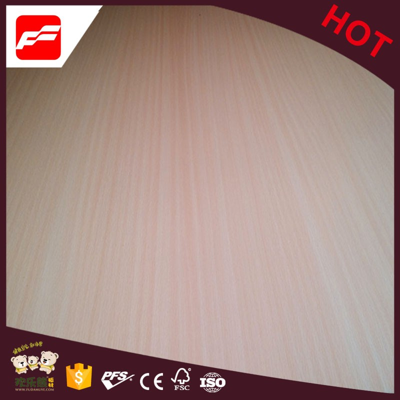 4x8 poplar/redwood/combi core natural veneer fancy plywood price