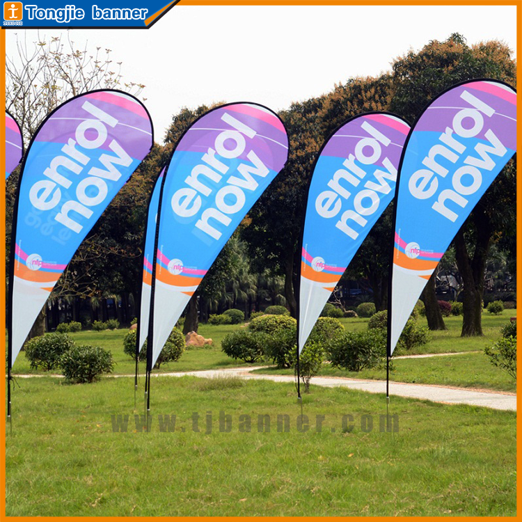 Wholesale factory make wind sail beach flags