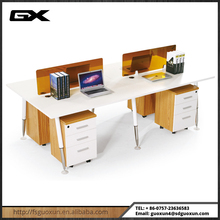 Modern Cubicle Office Table Partition / Modular Office Desk Workstation