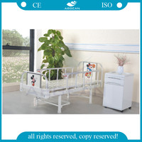 AG-CB001 CE ISO single function adjustable manual pediatric hospital bed