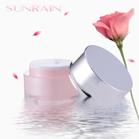 Wholesale PMMA plastic acrylic jar cosmetic for cosmetics cream jars