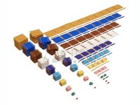 Complete Bead Materials,Montessori Math toys,Montessori wooden educational toys
