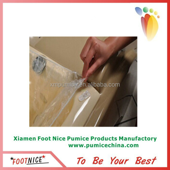 2015 hot sale disposable pedicure PE liner for foot massage chair