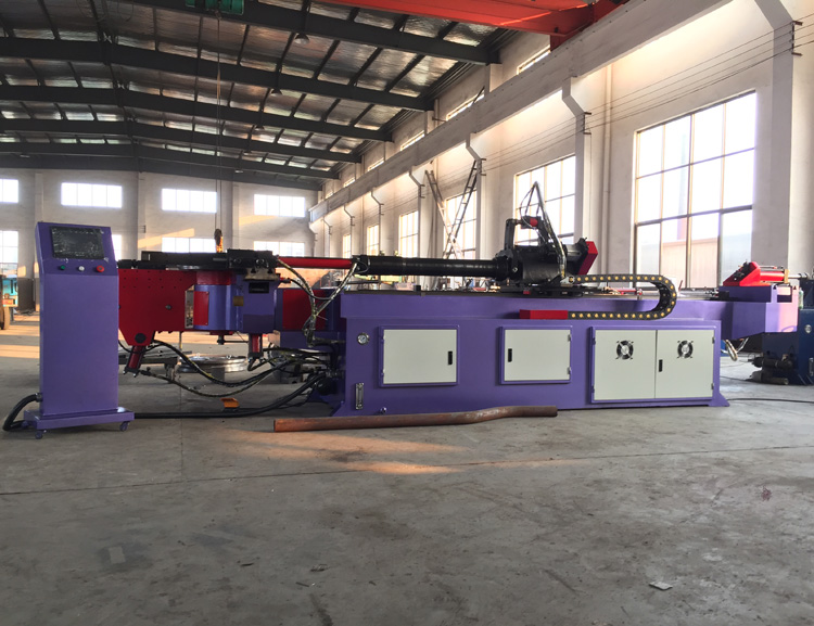 75mm tube pipe bender cnc pipe bending machine best price high quality in China