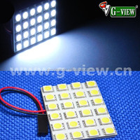 2015 led car dome bulb d-24smd 5050 led auto dome lamp ,12v car led light
