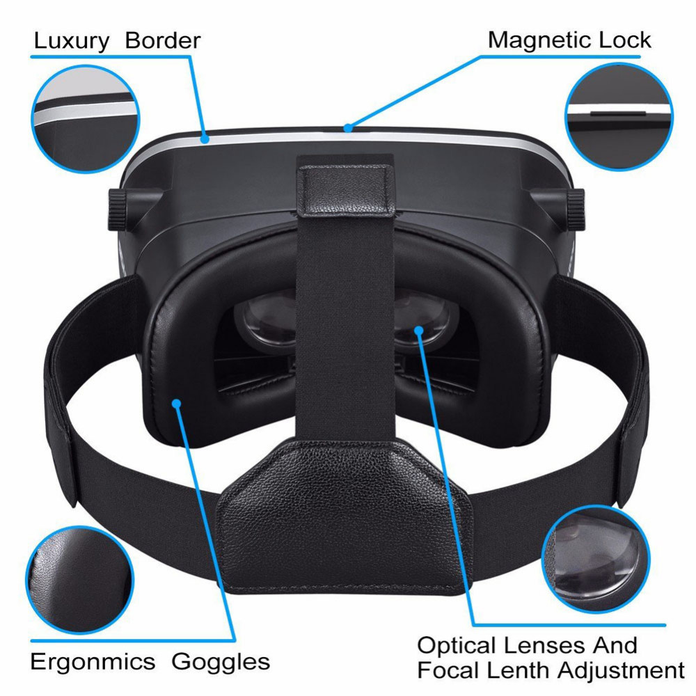 Vr Headset Vr 3d glasses 3D panoramic virtual reality headset/glasses comer Mobile phone cellphone video