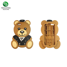 wholesale Anti Shock proof phone Case Custom 3D animal Silicone Phone Case