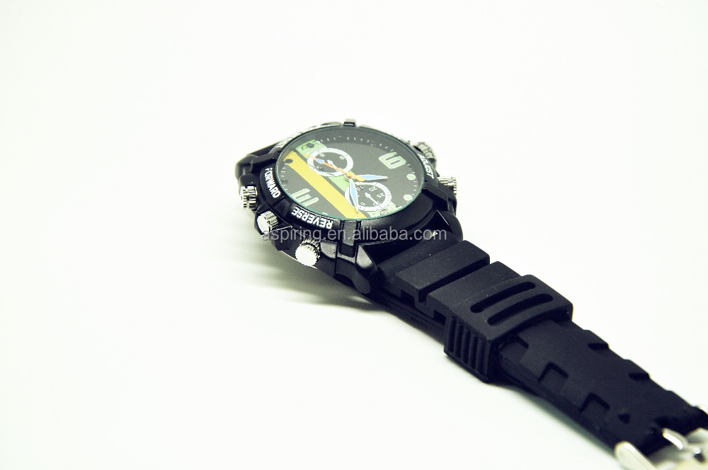 1920*1080P water proof IR night vision hd 1080p night vision watch camera dvr