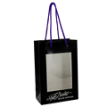 Luxury Window Paper Packaging Bag for Mobile Phone, mobile phone bag, mobile phone carry bag