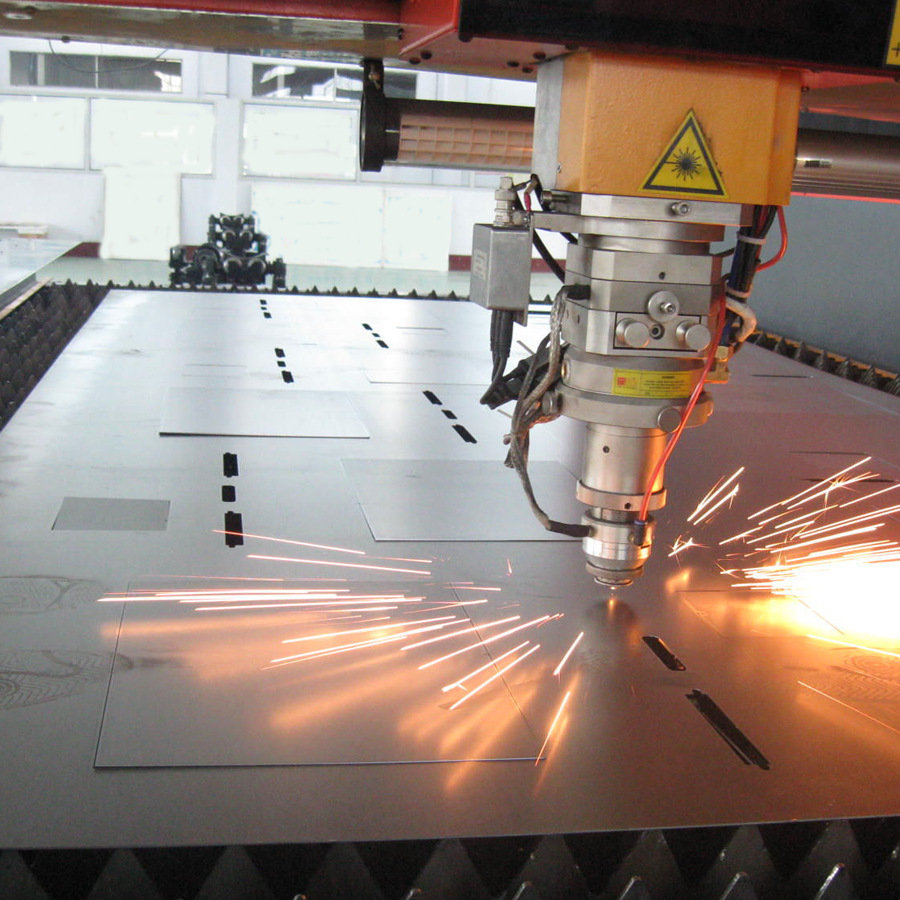 custom precision stainless steel sheet metal fabrication by gantry cnc plasma cutting mac