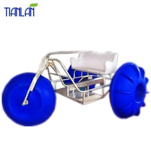 Giant Wheels Water Tricycle Pedal Boats Floating Water Exercise Bike