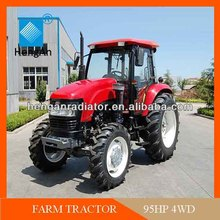 90HP 4wd farm tractor price list